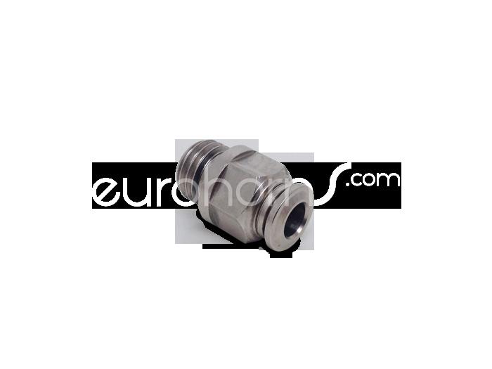 Steckverschraubung Ø6mm - M12x1.5 Gewinde (EU)