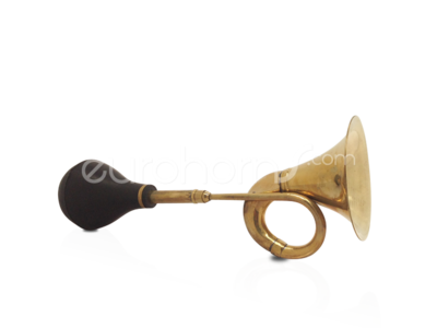 Brass Taxi Horn with Rubber Bulb