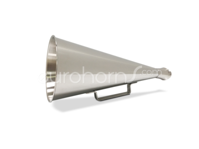nickel plated polished megaphone